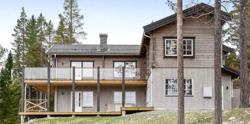 скандинавский стиль в архитектуре