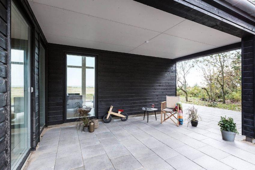 терраса в скандинавском стиле