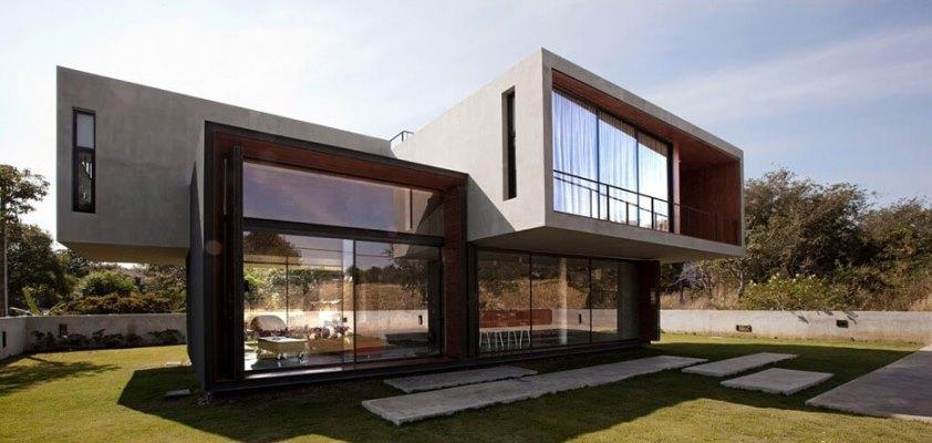 hi-tech фасады домов