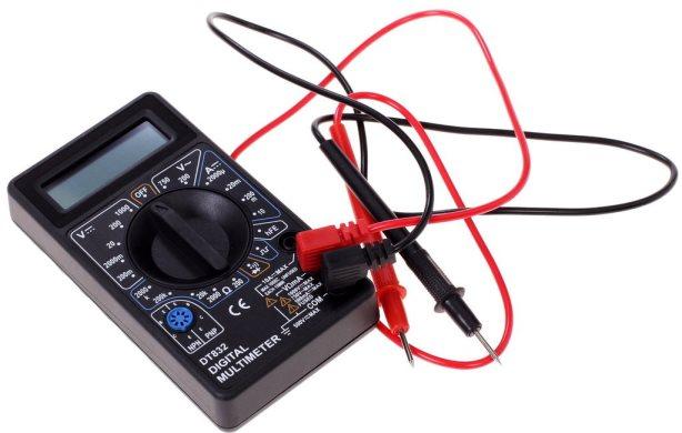определение L, N, PE проводов мультиметром