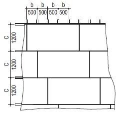 Расположение смежных листов гкл
