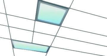встроенные панельные потолочные светильники