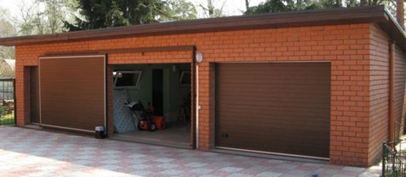 Откатные гаражныеворота