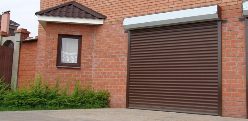Роллетные (рулонные) гаражные ворота