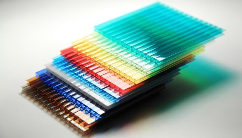 Варианты цветовой реализации поликарбоната