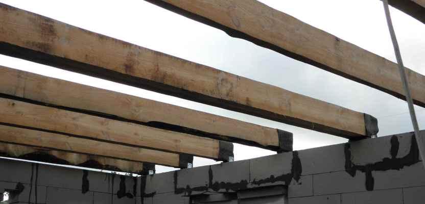 Деревянное перекрытие между этажами