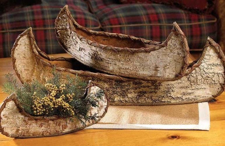 Эко декор из коры дерева