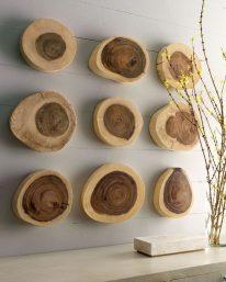 Эко декор из спила дерева