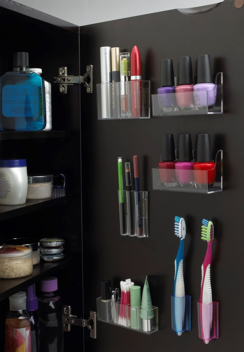 Хранение мелочей в ванной