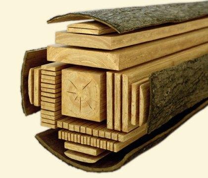 Основные изделия из дерева