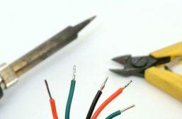 Как лудить провода