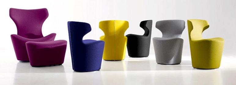 Кресла B&B Италия. Проект Наото Фукасава