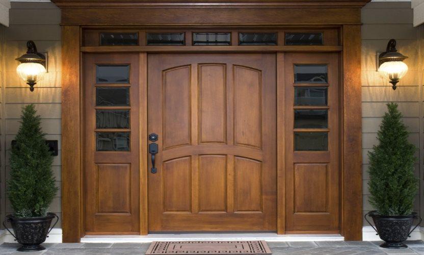 Виды дверей - от входных до межкомнатных