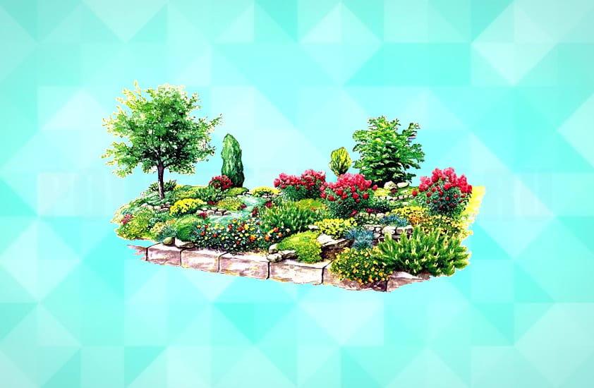 элементы ландшафтного дизайна