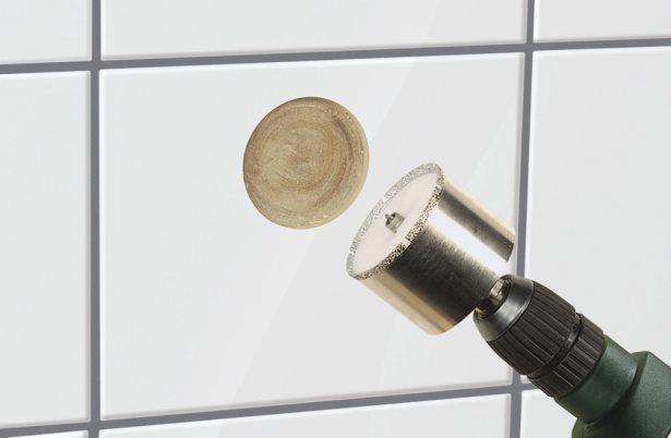 чем и как сверлить керамическую плитку