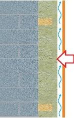 защита теплоизоляции ветрозащитными плитами