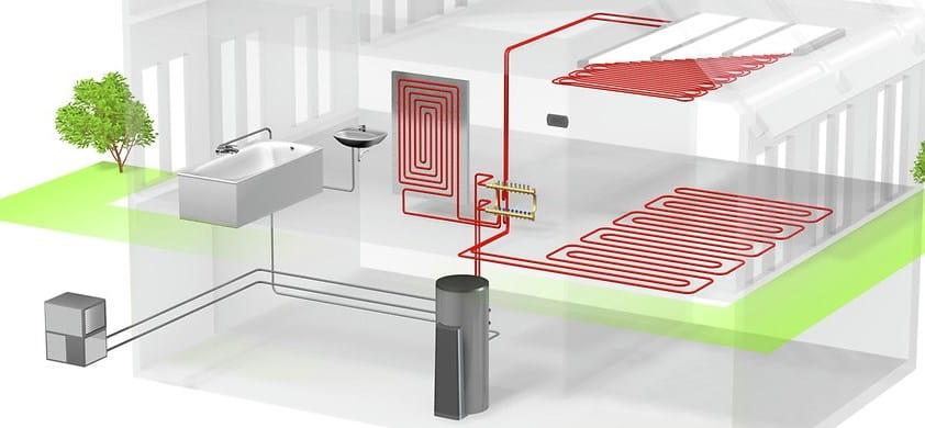 отопление пассивного дома