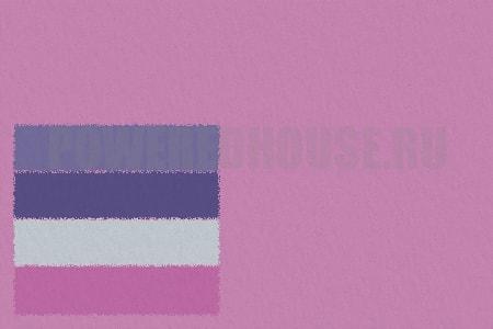 лавандово-розовый цвет в ванной