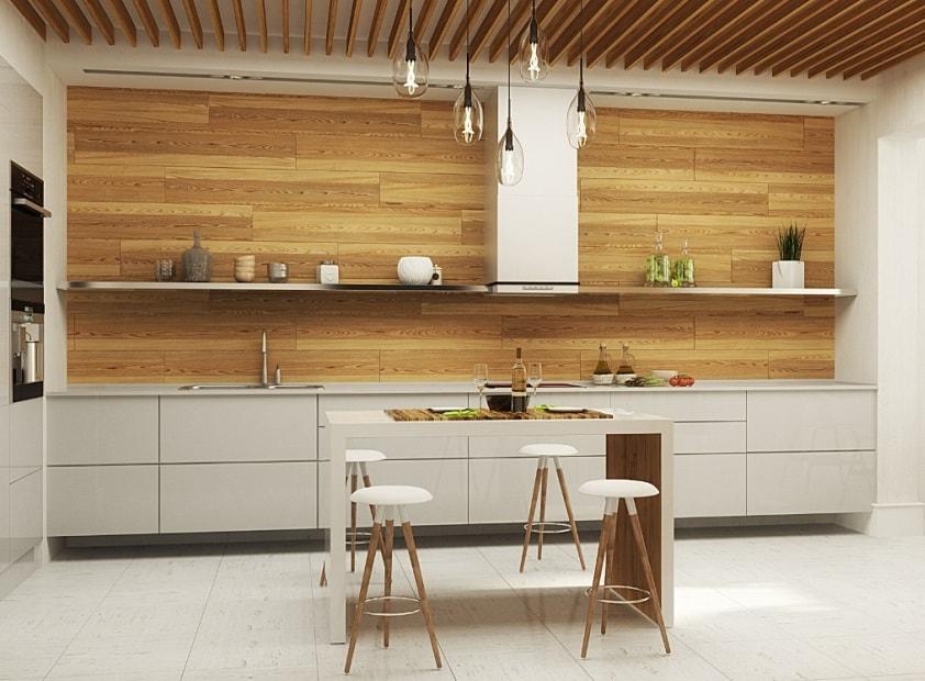 фото цвет и фактура поверхностей кухни