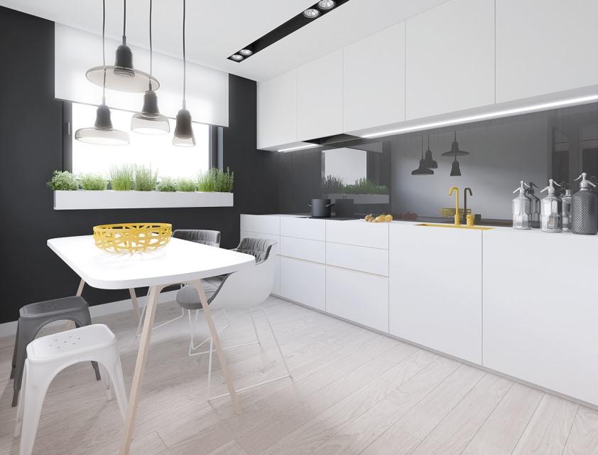 фото мебель для кухни минимализм