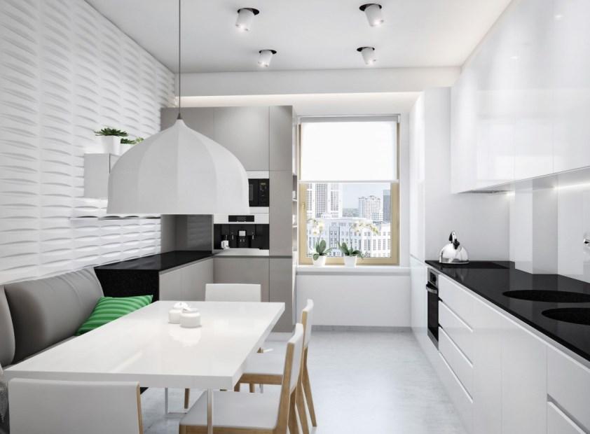 фото освещение кухни в стиле минимализм