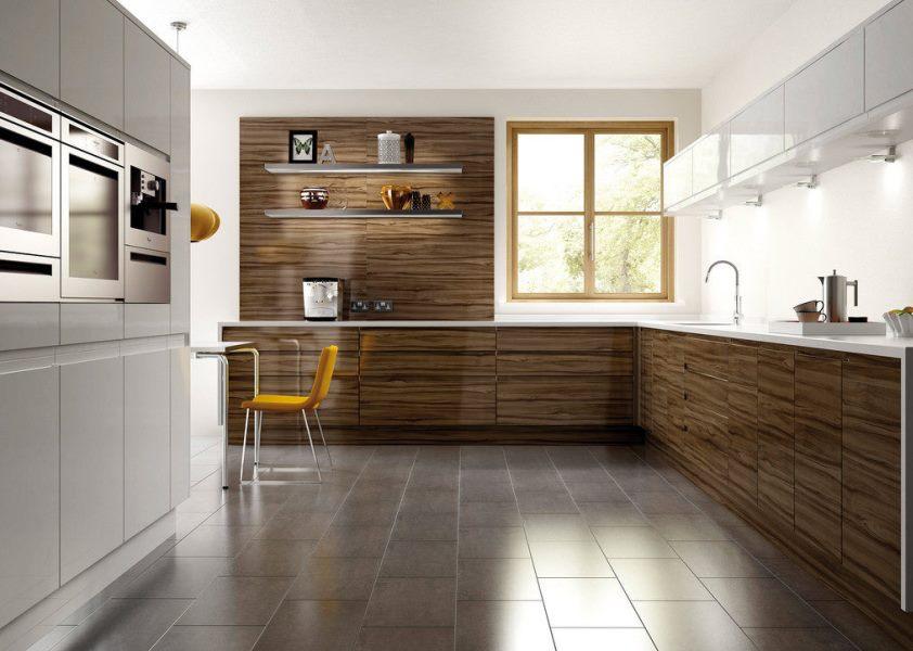 фото минимализм пола на кухне
