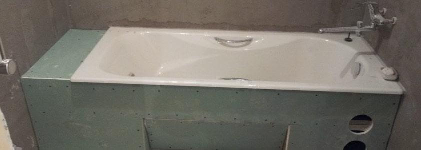 дополнительная полочка у ванны