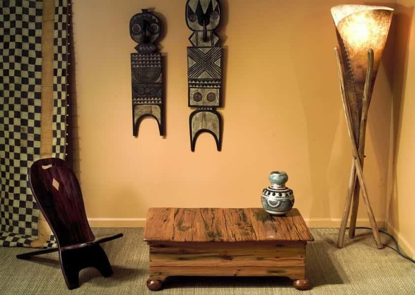 африканская мебель в интерьере