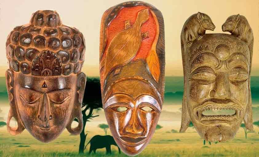 африканские ритуальные маски