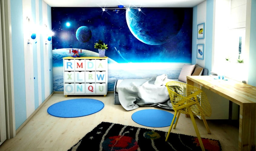 дизайн детской комнаты - как делать не нужно