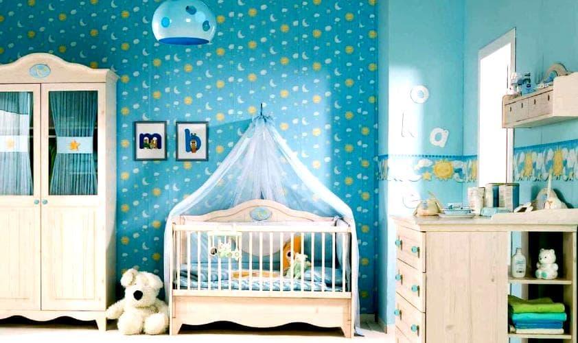 дизайн детской комнаты - основы