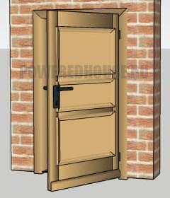 желтая входная дверь по фен шуй