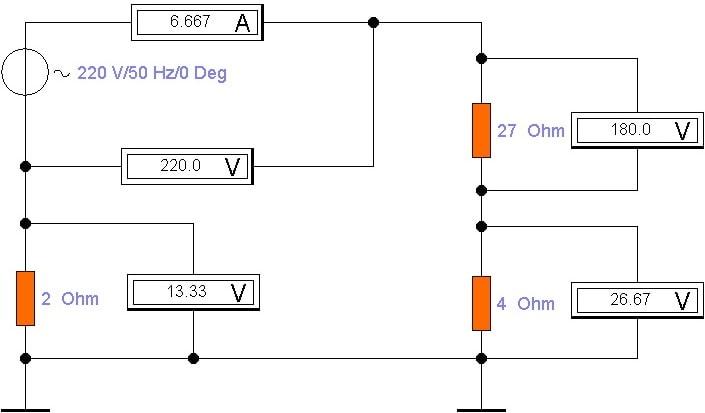 измерение заземления мультиметром - пример расчета