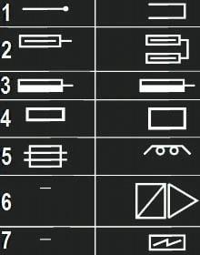 условные графические обозначения элементов систем отопления