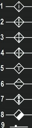 условные графические обозначения элементов трубопроводов общего назначения