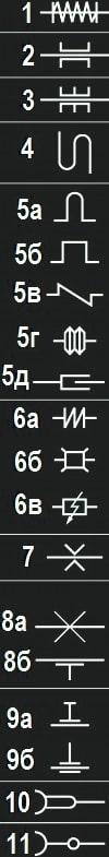 условные графические обозначения трубопроводов и их элементов