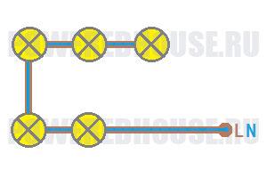 последовательное соединение электрической цепи