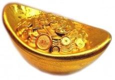чашабогатства (денежный горшочек)