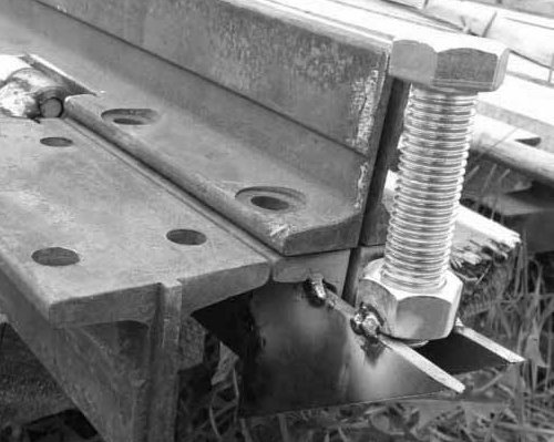 металлический листогиб схема