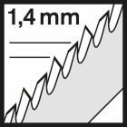 размер шага зубьев пилки