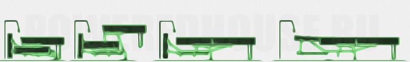 механизм трансформации дивана пума