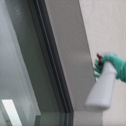 чистовая мойка окна