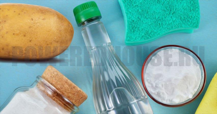 каким моющим мыть окна готовые и подручные средства