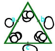 площадь равностороннего треугольника по стороне - онлайн расчет