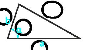 площадь треугольника по двум сторонам и углу между ними - расчет