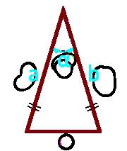 площадь равнобедренного треугольника по боковым сторонам и углу между ними