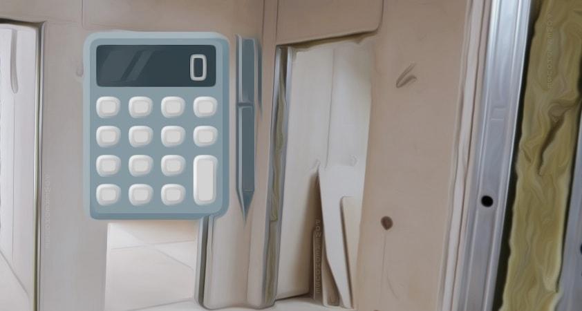 калькулятор перегородок из гипсокартона онлайн c111