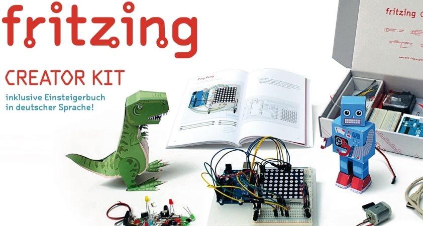 программа Fritzing 0.7.12 для проектирования электрических схем - скачать