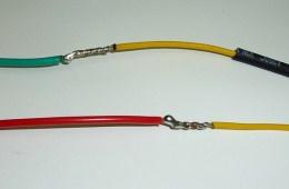 соединения проводов с помощью пайки
