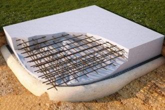 Преимущества плитной конструкции